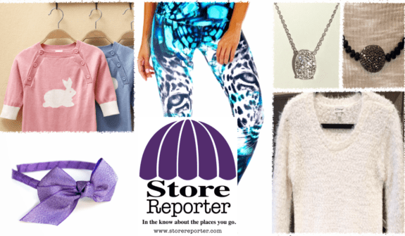 Store Reporter raffle items