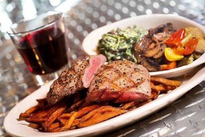 82 Steak Out Steak and Fries Dinner, Rockville Town Square