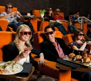 iPic Theaters with 3D Glasses