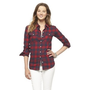 Target red flannel shirt
