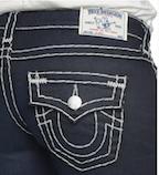 True Religion Jeans close-up