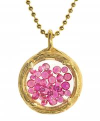 Leila gemstone necklace