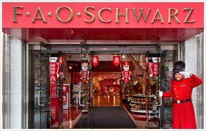 FAO Schwarz entrance