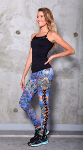 Equilibrium blue pants, black top