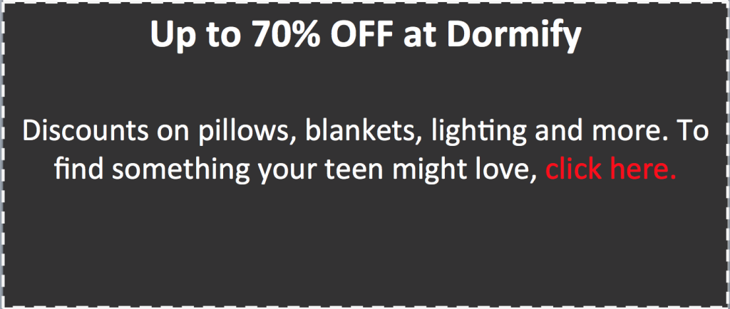 Dormify 2015 holiday coupon for web