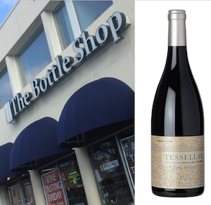 The Bottle Shop with wine bottle 300