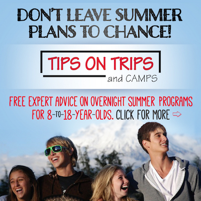 Tips on Trips and Camps ad: https://tipsontripsandcamps.com
