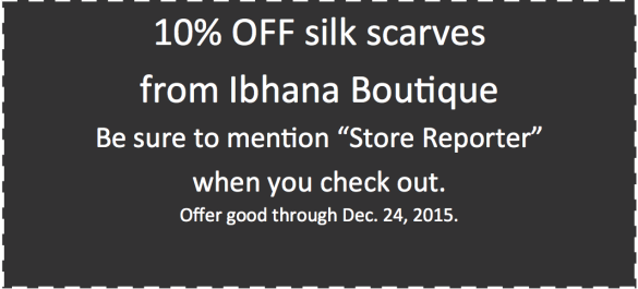 Ibhana Boutique holiday coupon