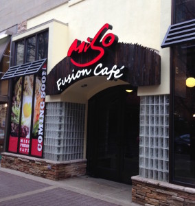 Miso Fusion Cafe Coming Soon storefront
