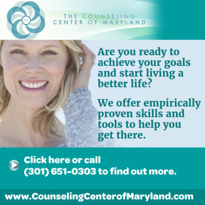 Counseling Center of Maryland ad: http://www.counselingcenterofmaryland.com