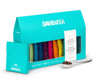 David's Tea starter kit
