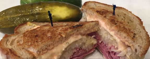 Chloe's NY Style Deli sandwich