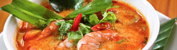 Tara Thai shrimp dish