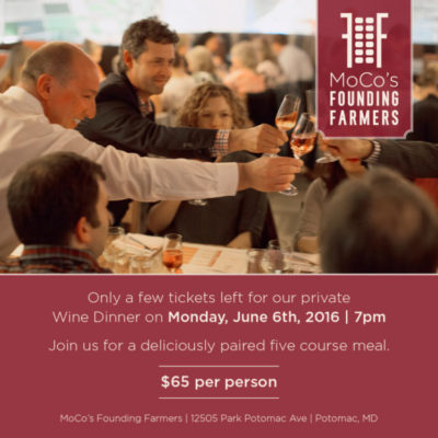 Founding Farmers Wine Dinner: http://www.wearefoundingfarmers.com/let-mocos-founding-farmers-wine-dine-you/