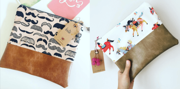 Pouches from Boite at URBNmarket