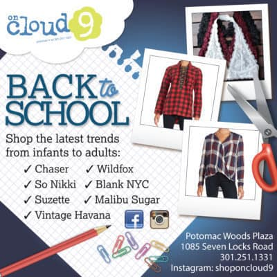 2016 On Cloud 9 Fall Back-to-School ad 1200