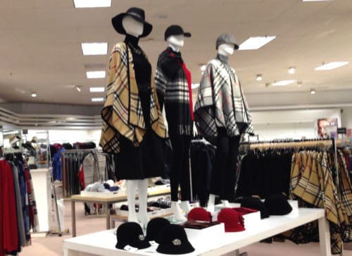 Lord & Taylor fall mannequins