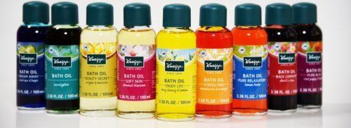 Kneipp bath oil set