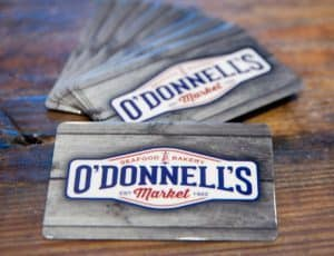 O'Donnell's Market gift cards
