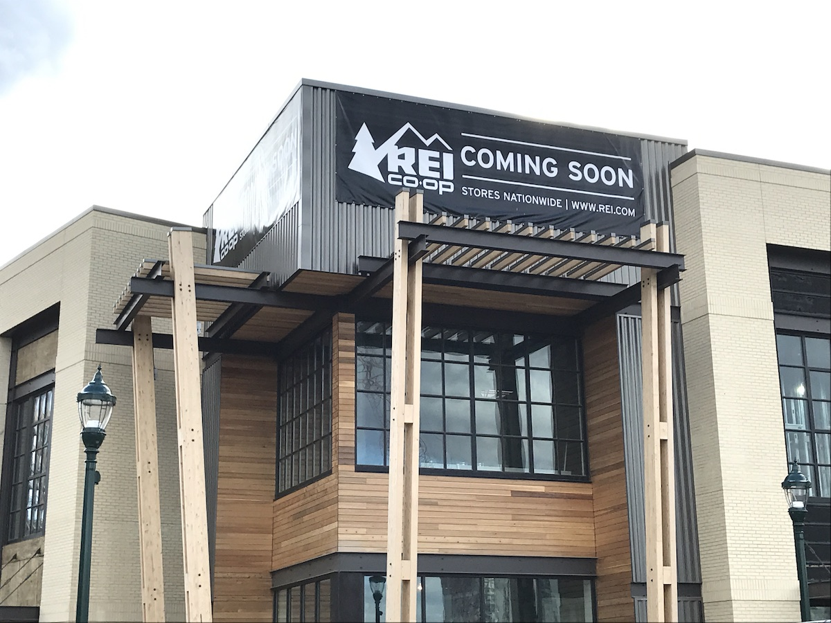 REI at Pike & Rose