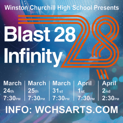 Blast 28 Infinity at Churchill High School: https://events.ticketprinting.com/event/21710