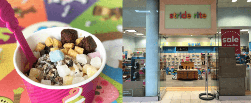 Menchie's Frozen Yogurt and Stride Rite at Westfield Montgomery Mall