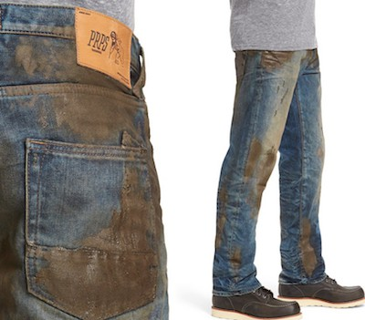 """Muddy"" jeans at Nordstrom"