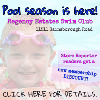 For information about membership discounts at Regency Estate Swim Club, email publisher@storereporter.com