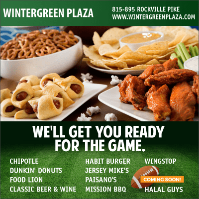 Super Bowl food at Wintergreen Plaza: http://www.wintergreenplaza.com