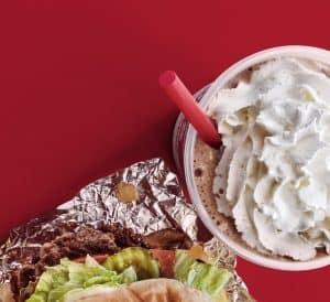 Burger and shakes at Five Guys