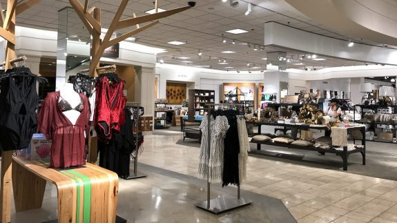 Cafe and decor departments at Nordstrom Westfield Montgomery Mall