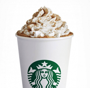 Starbucks latte