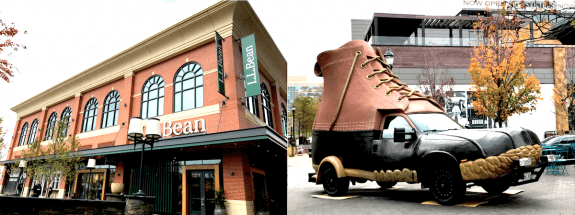 L.L.Bean and the Bootmobile at Pike & Rose