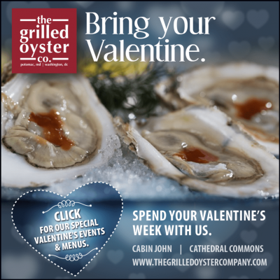 Valentine's Day menu and events at The Grilled Oyster: https://www.thegrilledoystercompany.com/special-events