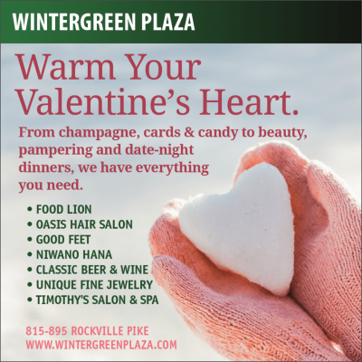 Valentine's Day shopping at Wintergreen Plaza: http://www.wintergreenplaza.com