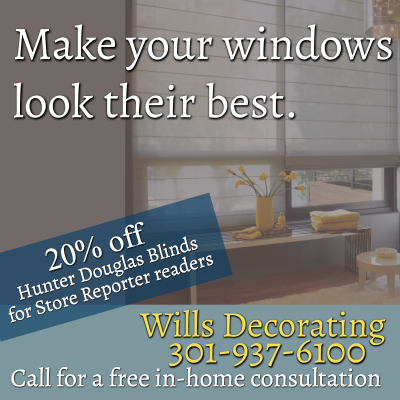 Wills Decorating offers a Hunter Douglas discount for Store Reporter readers: http://willshomedecorating.com/sb.cn
