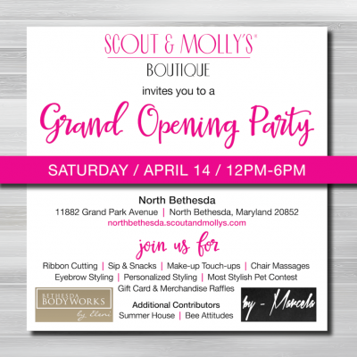 Scout & Molly's grand opening party at Pike & Rose