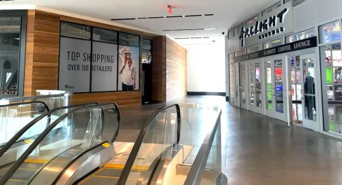 Former MET Bethesda restaurant and ArcLight Cinema at Westfield Montgomery Mall