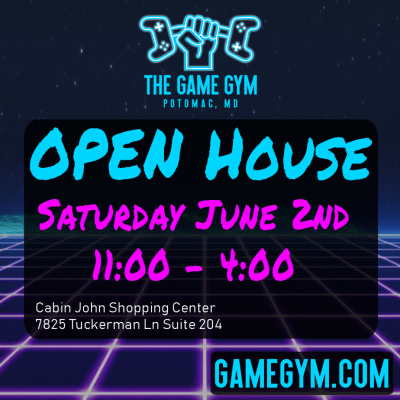 The Game Gym Open House: https://gamegym.com