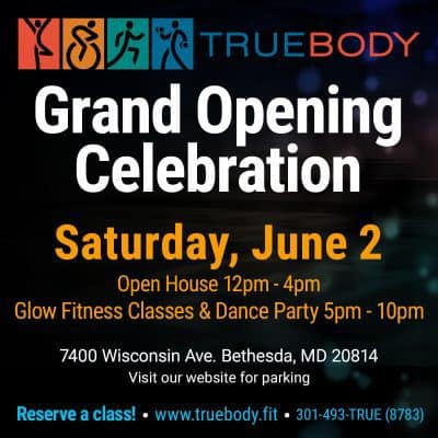 Truebody Grand opening Celebration: https://www.truebody.fit/tb_events/grand-opening-celebration/
