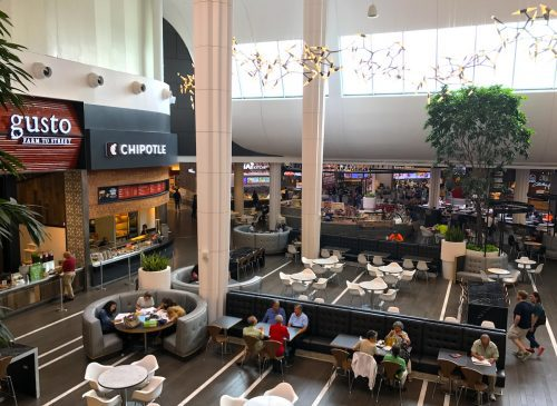 Dining Terrace at Westfield Montgomery Mall