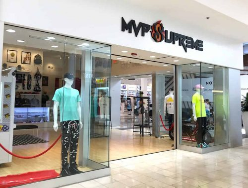MVP Supreme store at Westfield Montgomery mall